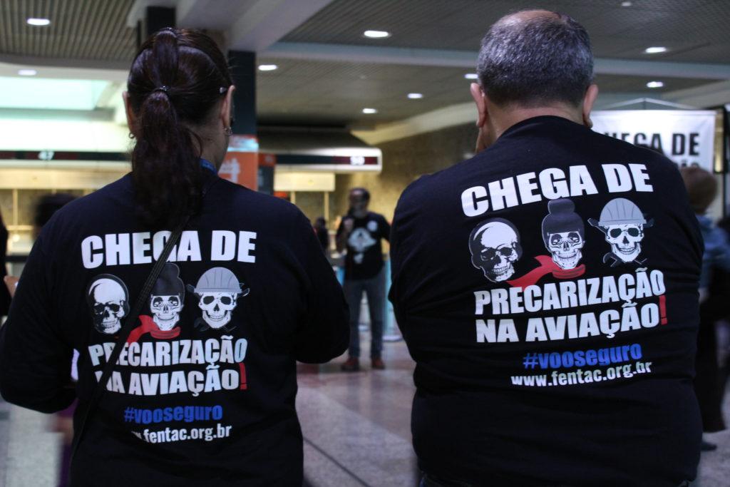 Foto de Johnny Oliveira/Sindicato dos Aeroviários de Porto Alegre
