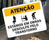 Atendimentos temporariamente suspensos devido a obras