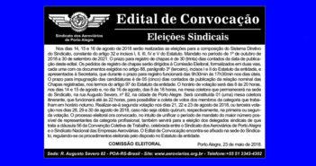 Eleições do Sindicato acontecem em agosto