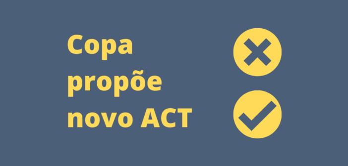 Copa propõe novo ACT; assembleia acontece na sexta-feira (18)