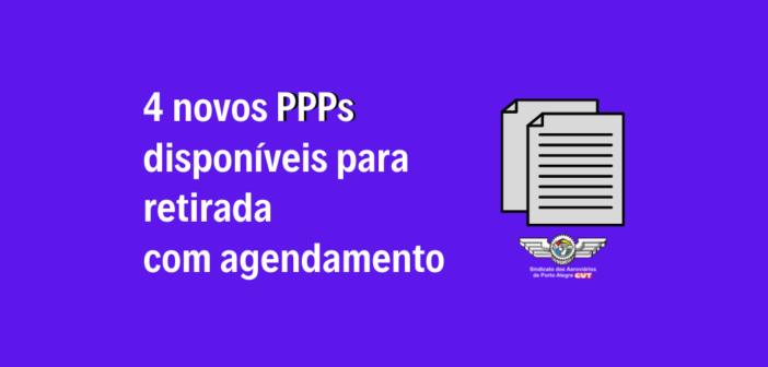 4 novos PPPs da TAP ME estão disponíveis para retirada com agendamento