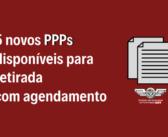 5 novos PPPs da TAP ME estão disponíveis para retirada com agendamento