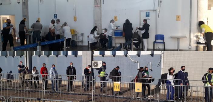 Vacinação no Salgado Filho atende trabalhadores nesta segunda (31)