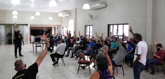 Contas do Sindicato são aprovadas por unanimidade em assembleia