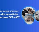 Campanha Salarial: Por margem apertada, aeroviários aprovam nova CCT e ACT